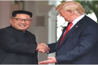 Trump meets Kim in DMZ, becomes first US president to visit N Korea
