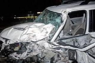 New Delhi: One killed, eight injured in car accident in Paschim Vihar