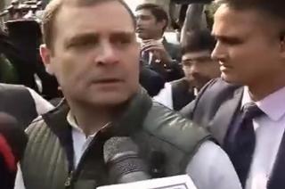 Taking inputs from MLAs and workers, says Congress chief Rahul Gandhi