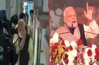 PM Modi addresses rally in Rae Bareli