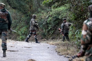 Security forces blast house in Jammu and Kashmir's Hajin