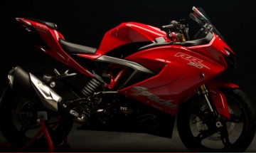 TVS Apache RR 310 launched in India at Rs 2.05 lakh; Check out specification, features