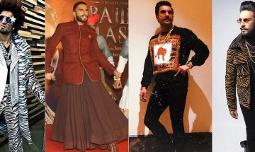 Five times our Gully Boy, Ranveer Singh pulled off the 'goofy' tag in outfits