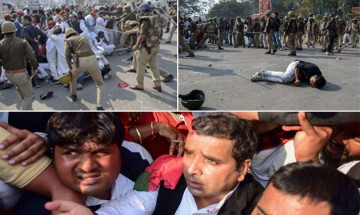 Samajwadi Party MP, workers injured in clash with police