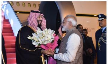 Modi breaks protocol to give Saudi Arabia Crown Prince MBS a grand welcome