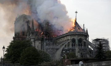 Notre Dame fire: Catastrophic inferno that destroyed greatest Gothic cathedral