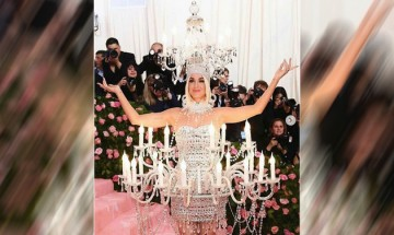 Met Gala 2019:Walking chandeliers to semi-naked dresses, celebs who turned heads for all wrong reasons