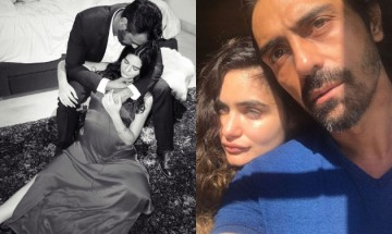 Arjun Rampal's girlfriend and mommy-to-be Gabriella Demetriades looks 'angelic' in latest photoshoot
