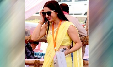 This election season, polling officer in yellow saree creates buzz