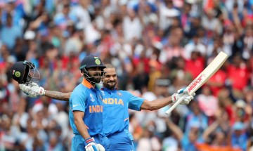 Dhawan's century, Pandya's power hitting and Kohli's class - India vs Australia game in pictures