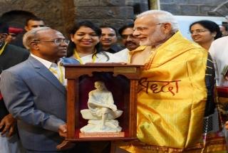 Maharashtra: PM Modi attends Sai Baba Samadhi Centenary celebrations in Shirdi