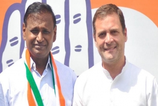 Udit Raj joins Congress after BJP denied him Lok Sabha ticket