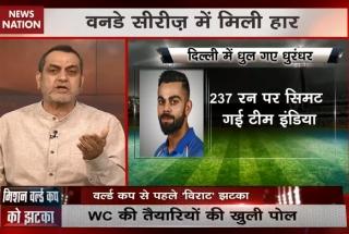 Stadium: Massive jolt to India's World Cup preparations