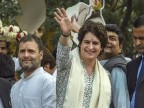 Priyanka Gandhi roars into UP with mega roadshow ahead of Mission 2019