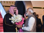 Modi breaks protocol to give Saudi Arabia Crown Prince MBS a grand welcome