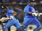 MS Dhoni, Kedar Jadhav fifties help India continue Australia domination