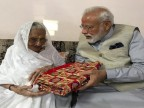 With gota chunri, coconut and mother's blessings, PM Modi votes in Gujarat's Ranip