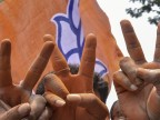 Modi wave 2.0 paints country saffron