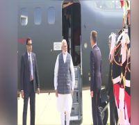Prime Minister Narendra Modi arrives in France's Biarritz for G7 Summit