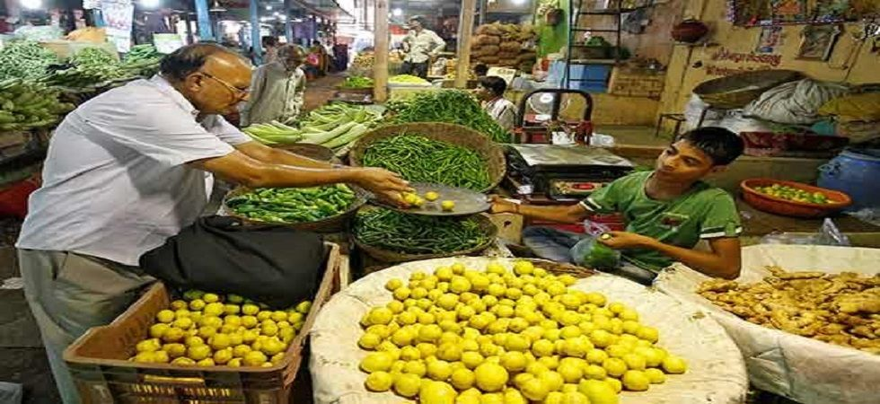 Retail inflation eases marginally to 3.15 per cent in July from 3.18 per cent in June