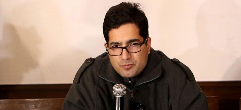 Shah Faesal was bound for Istanbul when he was detained. (File Photo: IANS)