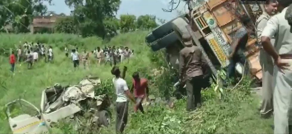 5 people are reportedly injured in the incident. (Image Credit: ANI)