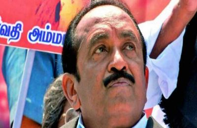 MDMK chief Vaiko convicted in 2009 sedition case, sentenced to 1 year in jail