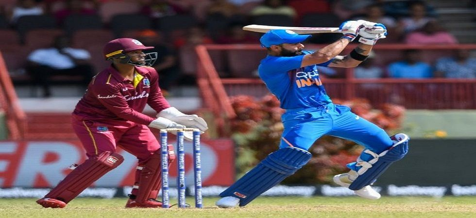 Virat Kohli scored his eighth century against West Indies during the 2nd ODI at the Queens Park Oval against West Indies. (Image credit: Twitter)